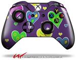 Decal Style Skin for Microsoft XBOX One Wireless Controller Crazy Hearts - (CONTROLLER NOT INCLUDED)