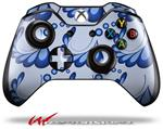 Decal Style Skin for Microsoft XBOX One Wireless Controller Petals Blue - (CONTROLLER NOT INCLUDED)