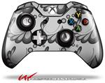 Decal Style Skin for Microsoft XBOX One Wireless Controller Petals Gray - (CONTROLLER NOT INCLUDED)