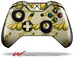 Decal Style Skin for Microsoft XBOX One Wireless Controller Petals Yellow - (CONTROLLER NOT INCLUDED)