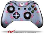 Decal Style Skin for Microsoft XBOX One Wireless Controller Flamingos on Blue - (CONTROLLER NOT INCLUDED)