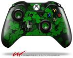 Decal Style Skin for Microsoft XBOX One Wireless Controller St Patricks Clover Confetti - (CONTROLLER NOT INCLUDED)