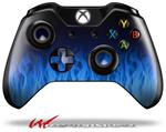 Decal Style Skin for Microsoft XBOX One Wireless Controller Fire Blue - (CONTROLLER NOT INCLUDED)