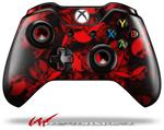 Decal Style Skin for Microsoft XBOX One Wireless Controller Skulls Confetti Red - (CONTROLLER NOT INCLUDED)