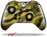 Decal Style Skin for Microsoft XBOX One Wireless Controller Camouflage Yellow - (CONTROLLER NOT INCLUDED)