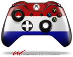 Decal Style Skin for Microsoft XBOX One Wireless Controller Red White and Blue - (CONTROLLER NOT INCLUDED)