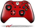 Decal Style Skin for Microsoft XBOX One Wireless Controller Solids Collection Red - (CONTROLLER NOT INCLUDED)