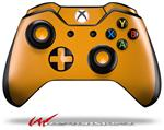 Decal Style Skin for Microsoft XBOX One Wireless Controller Solids Collection Orange - (CONTROLLER NOT INCLUDED)