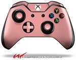 Decal Style Skin for Microsoft XBOX One Wireless Controller Solids Collection Pink - (CONTROLLER NOT INCLUDED)