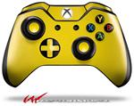 Decal Style Skin for Microsoft XBOX One Wireless Controller Solids Collection Yellow - (CONTROLLER NOT INCLUDED)