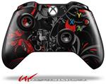 Decal Style Skin for Microsoft XBOX One Wireless Controller Twisted Garden Gray and Red - (CONTROLLER NOT INCLUDED)