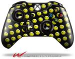 Decal Style Skin for Microsoft XBOX One Wireless Controller Smileys on Black - (CONTROLLER NOT INCLUDED)