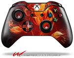 Decal Style Skin for Microsoft XBOX One Wireless Controller Fire Flower - (CONTROLLER NOT INCLUDED)