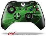 Decal Style Skin for Microsoft XBOX One Wireless Controller Mystic Vortex Green - (CONTROLLER NOT INCLUDED)