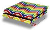 Zig Zag Rainbow - Decal Style Skin fits original PS4 Gaming Console