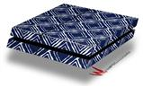 Wavey Navy Blue - Decal Style Skin fits original PS4 Gaming Console