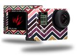 Zig Zag Colors 02 - Decal Style Skin fits GoPro Hero 4 Silver Camera (GOPRO SOLD SEPARATELY)
