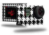 Houndstooth Black and White - Decal Style Skin fits GoPro Hero 4 Silver Camera (GOPRO SOLD SEPARATELY)