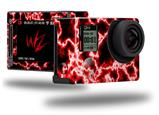 Electrify Red - Decal Style Skin fits GoPro Hero 4 Silver Camera (GOPRO SOLD SEPARATELY)