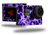 Electrify Purple - Decal Style Skin fits GoPro Hero 4 Silver Camera (GOPRO SOLD SEPARATELY)