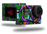 Crazy Dots 03 - Decal Style Skin fits GoPro Hero 4 Silver Camera (GOPRO SOLD SEPARATELY)