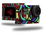 Crazy Dots 04 - Decal Style Skin fits GoPro Hero 4 Silver Camera (GOPRO SOLD SEPARATELY)