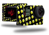 Smileys on Black - Decal Style Skin fits GoPro Hero 4 Silver Camera (GOPRO SOLD SEPARATELY)