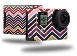 Zig Zag Colors 02 - Decal Style Skin fits GoPro Hero 4 Black Camera (GOPRO SOLD SEPARATELY)