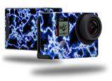 Electrify Blue - Decal Style Skin fits GoPro Hero 4 Black Camera (GOPRO SOLD SEPARATELY)