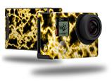 Electrify Yellow - Decal Style Skin fits GoPro Hero 4 Black Camera (GOPRO SOLD SEPARATELY)