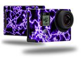 Electrify Purple - Decal Style Skin fits GoPro Hero 4 Black Camera (GOPRO SOLD SEPARATELY)