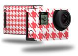 Houndstooth Coral - Decal Style Skin fits GoPro Hero 4 Black Camera (GOPRO SOLD SEPARATELY)