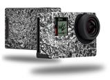 Aluminum Foil - Decal Style Skin fits GoPro Hero 4 Black Camera (GOPRO SOLD SEPARATELY)