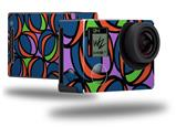 Crazy Dots 02 - Decal Style Skin fits GoPro Hero 4 Black Camera (GOPRO SOLD SEPARATELY)