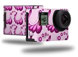 Petals Pink - Decal Style Skin fits GoPro Hero 4 Black Camera (GOPRO SOLD SEPARATELY)