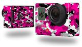WraptorCamo Digital Camo Hot Pink - Decal Style Skin fits GoPro Hero 3+ Camera (GOPRO NOT INCLUDED)