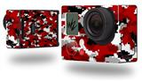 WraptorCamo Digital Camo Red - Decal Style Skin fits GoPro Hero 3+ Camera (GOPRO NOT INCLUDED)