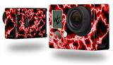 Electrify Red - Decal Style Skin fits GoPro Hero 3+ Camera (GOPRO NOT INCLUDED)