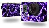 Electrify Purple - Decal Style Skin fits GoPro Hero 3+ Camera (GOPRO NOT INCLUDED)