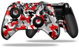Sexy Girl Silhouette Camo Red - Decal Style Skin fits Microsoft XBOX One ELITE Wireless Controller (CONTROLLER NOT INCLUDED)