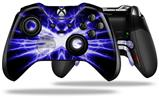 Lightning Blue - Decal Style Skin fits Microsoft XBOX One ELITE Wireless Controller (CONTROLLER NOT INCLUDED)