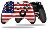 USA American Flag 01 - Decal Style Skin fits Microsoft XBOX One ELITE Wireless Controller (CONTROLLER NOT INCLUDED)