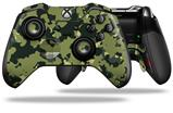 WraptorCamo Old School Camouflage Camo Army - Decal Style Skin fits Microsoft XBOX One ELITE Wireless Controller (CONTROLLER NOT INCLUDED)