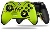 Softball - Decal Style Skin fits Microsoft XBOX One ELITE Wireless Controller (CONTROLLER NOT INCLUDED)