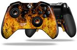 Open Fire - Decal Style Skin fits Microsoft XBOX One ELITE Wireless Controller (CONTROLLER NOT INCLUDED)