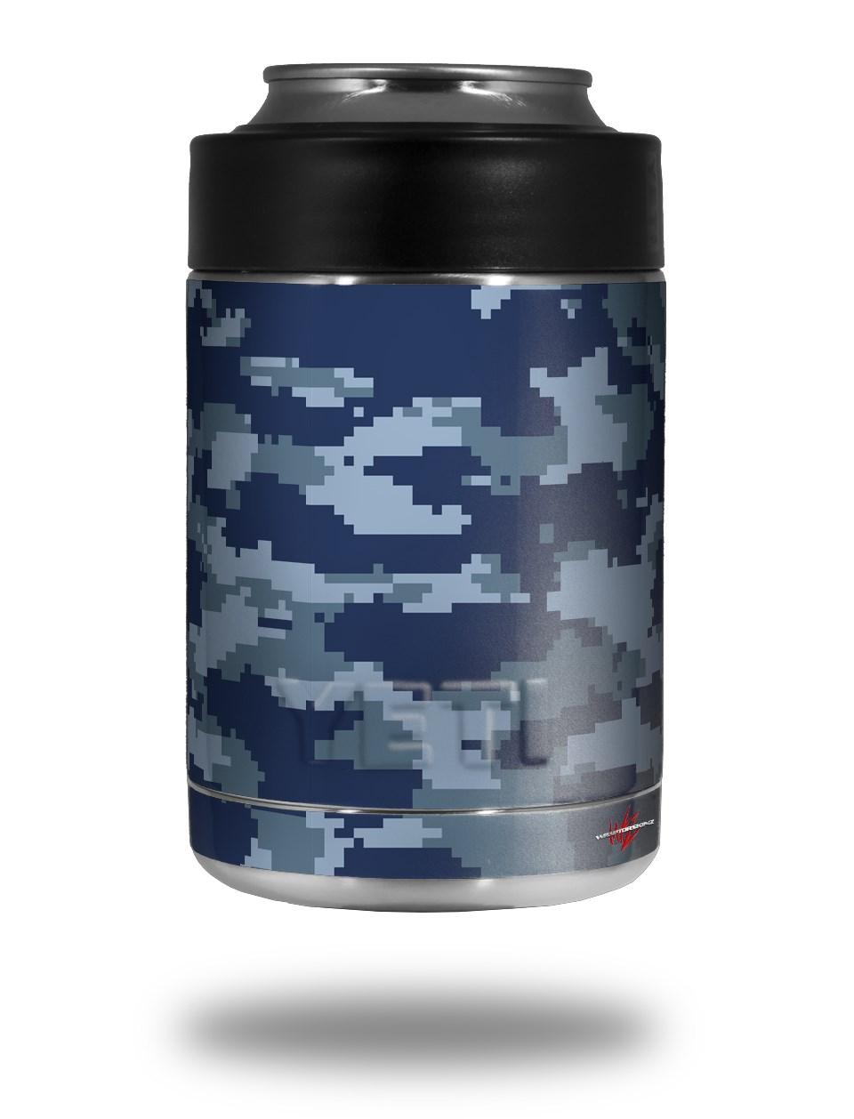 Yeti Colster Can Skins Wraptorcamo Digital Camo Navy