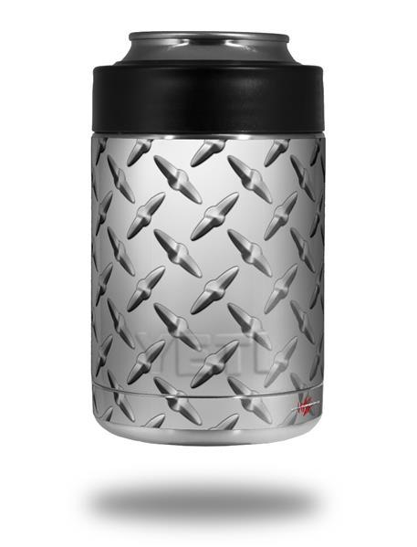 d08256bb3f7 Yeti Colster Can Skins Diamond Plate Metal | WraptorSkinz