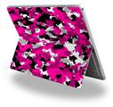 Decal Style Vinyl Skin for Microsoft Surface Pro 4 - WraptorCamo Digital Camo Hot Pink -  (SURFACE NOT INCLUDED)