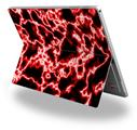 Decal Style Vinyl Skin for Microsoft Surface Pro 4 - Electrify Red -  (SURFACE NOT INCLUDED)