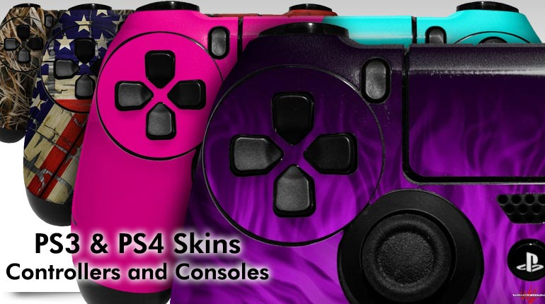 WraptorSkinz Skins and Wraps for Sony Playstation 3 and Playstation 4